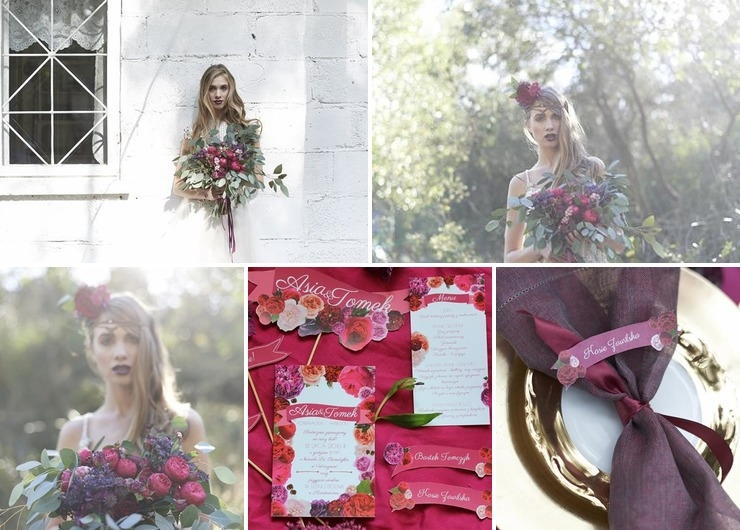 Roses&blackberries wedding ideas