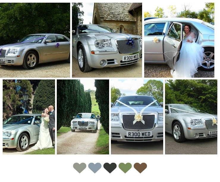 Our Chrysler 300c attending weddings throughoutGloucestershire