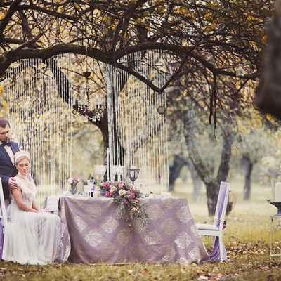 Декор для свадьбы на природе