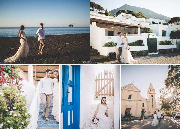 Aeolian islands wedding
