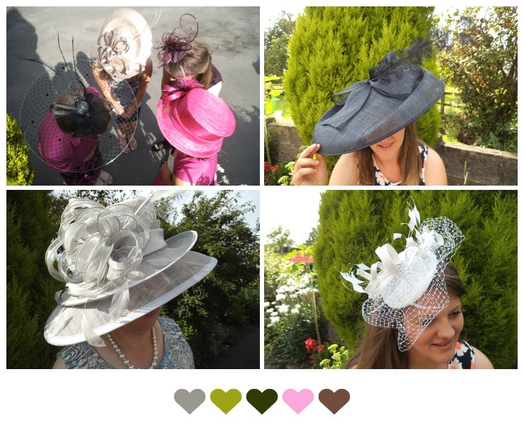 Examples from Kinderton Hat Studio