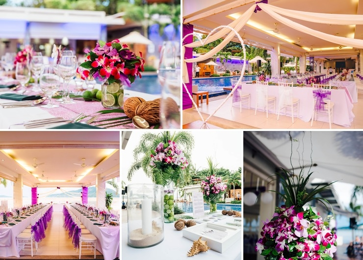 Wedding Reception Beachfront