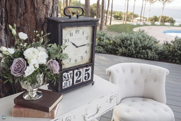 Wedding photo session decor