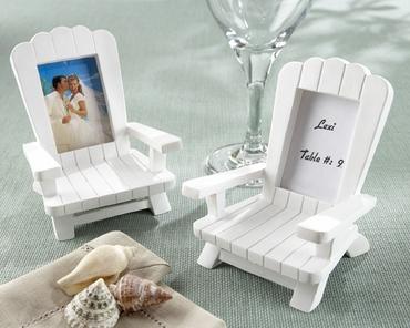 Themed white wedding reception decor