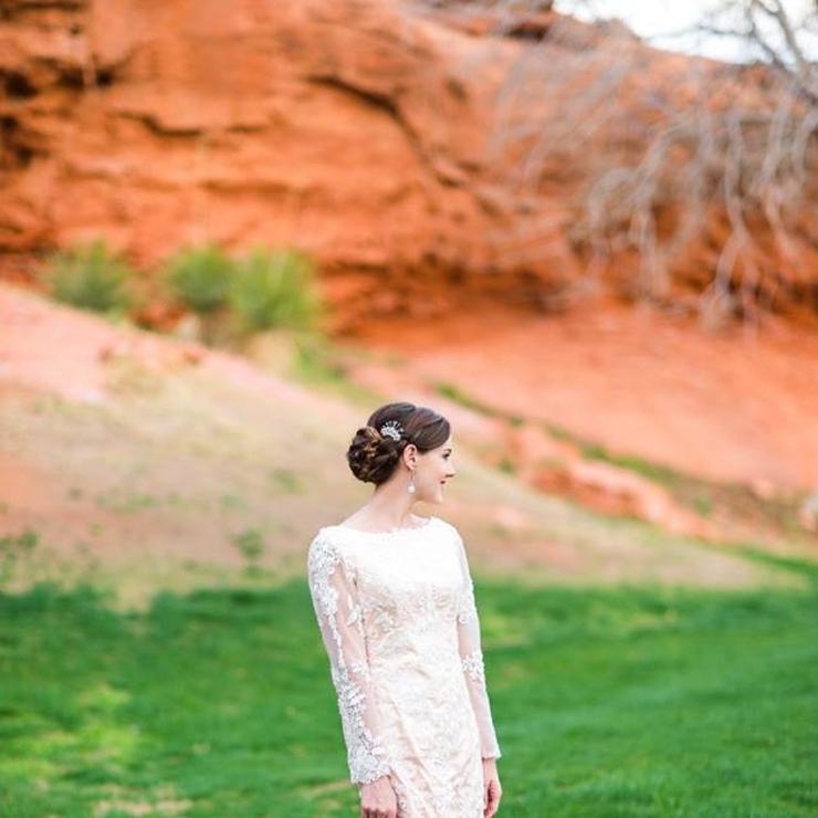 Lindsay style dress ( blush/ivory)