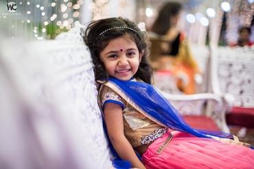 Ethnical kids at wedding