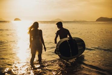 Beach engagement