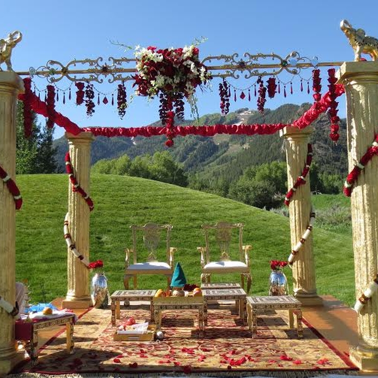 Aspen Meadows Indian Wedding