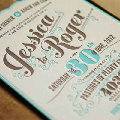 Breakfast at tiffany's blue wedding invitations