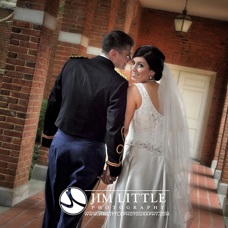 Kimberly and David's military wedding