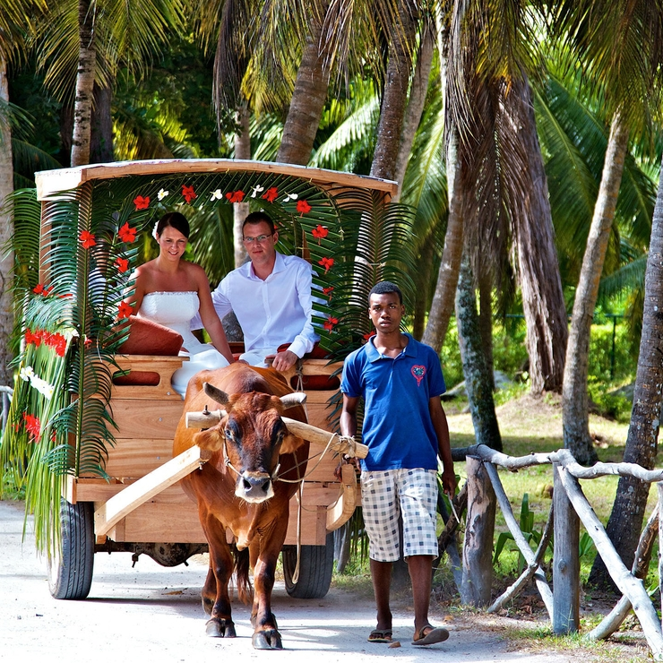 Seychelles, La Digue wedding, by seychelles-wedding-photographer.com