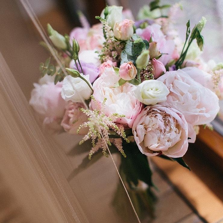 Blooming garden wedding