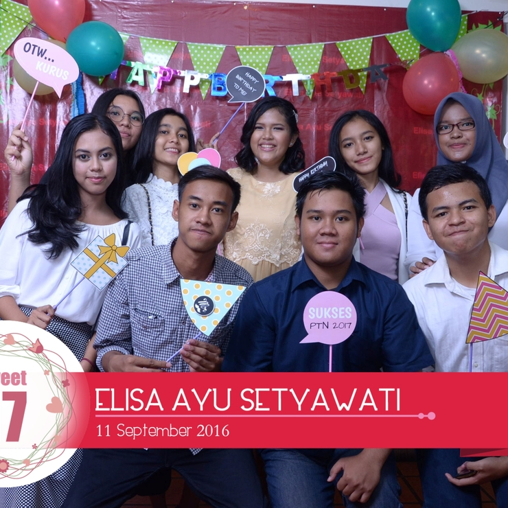 Elisa's Sweet 17th Birthday Party