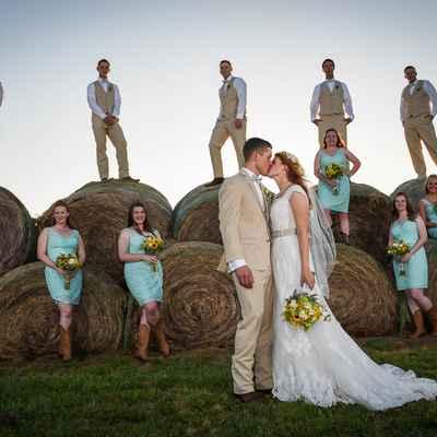Rustic groom style