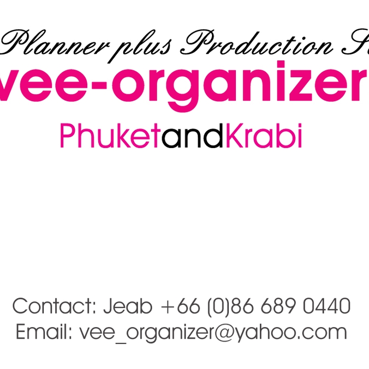 Event Wedding Planner in Krabi + Samui + Phuket - Thailand