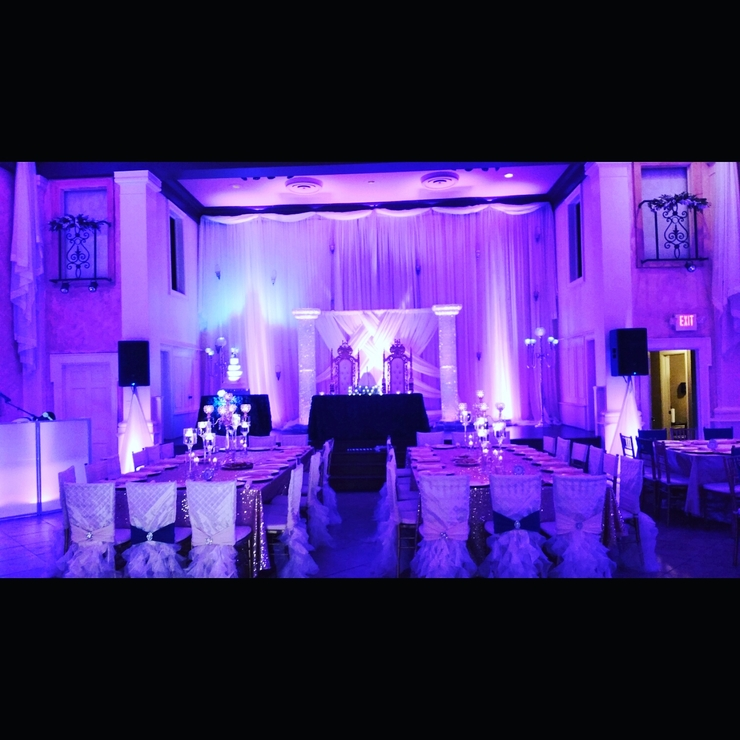 Signature Eventx Setup and Decor