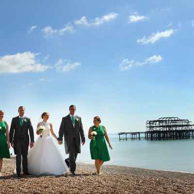 Marine green wedding photo session ideas
