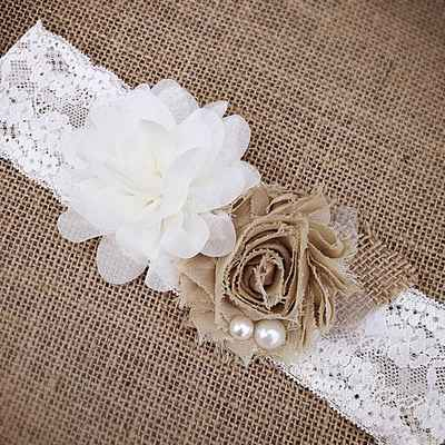 White wedding headpieces, veils, cover-ups & brooches