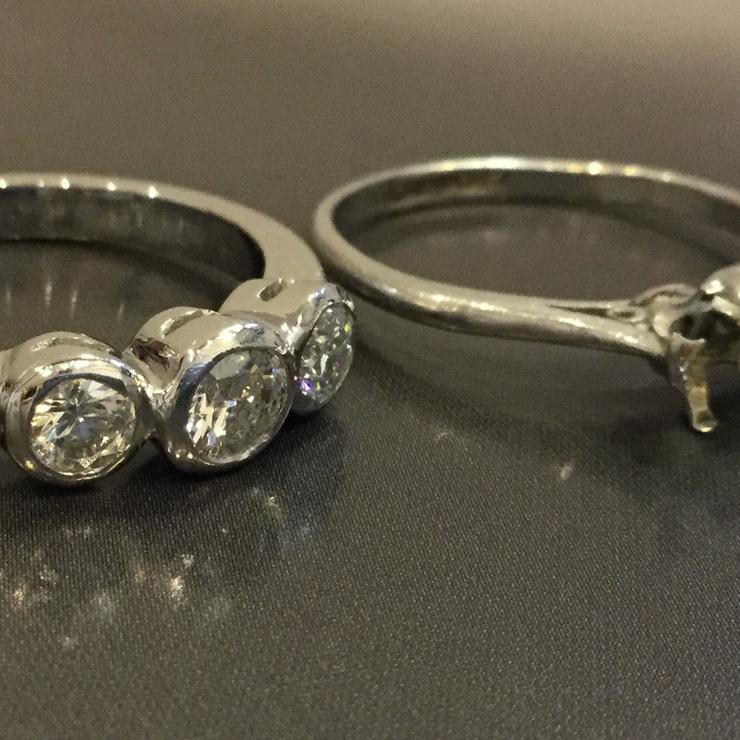 Handmade Bespoke Rings by Tony