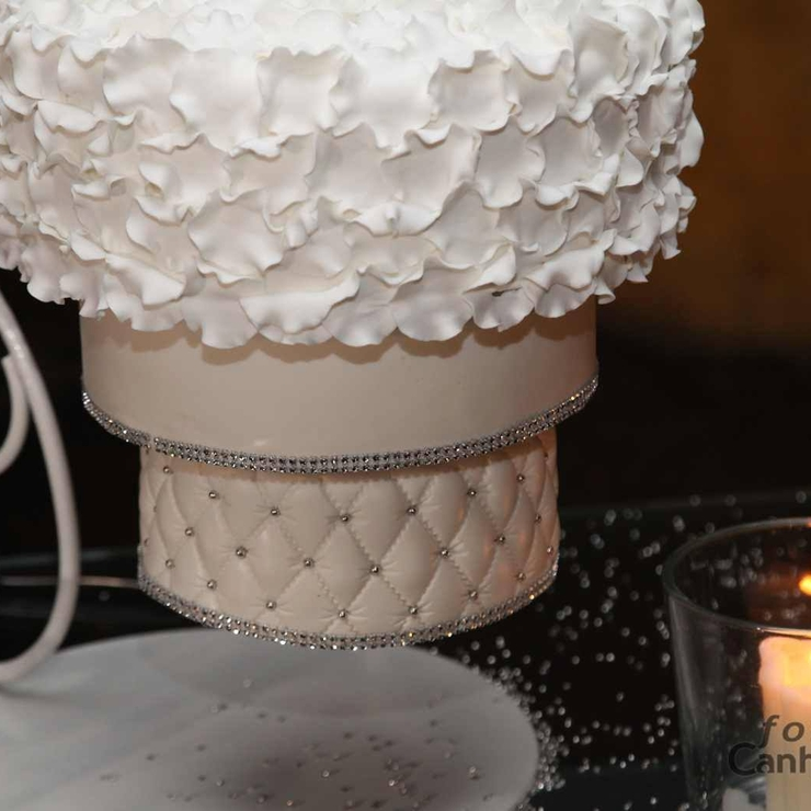 Wedding Cake Suspended & Chandelier