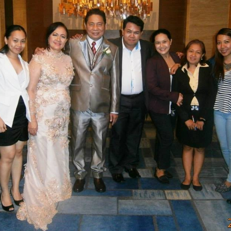 Manny & Rosma Golden Wedding Anniversary, Makati Shangri-La