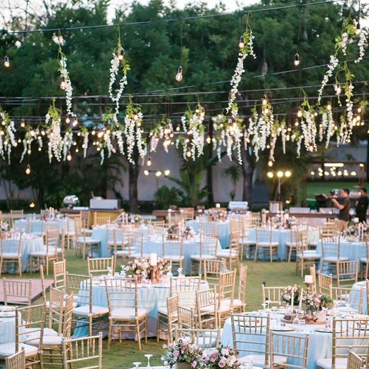 Gold & Blue Wedding At The Royal Santrian , Nusa Dua,Bali