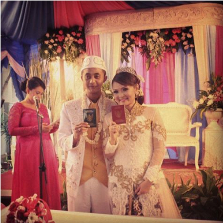novi & sigit wedding