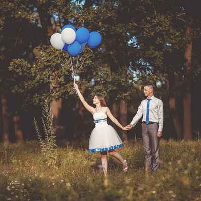Summer blue real weddings