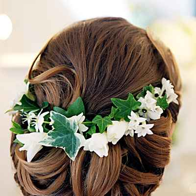 Mediterranean green wedding accessories