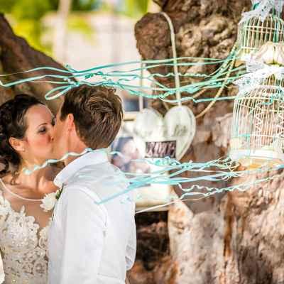 Blue real weddings