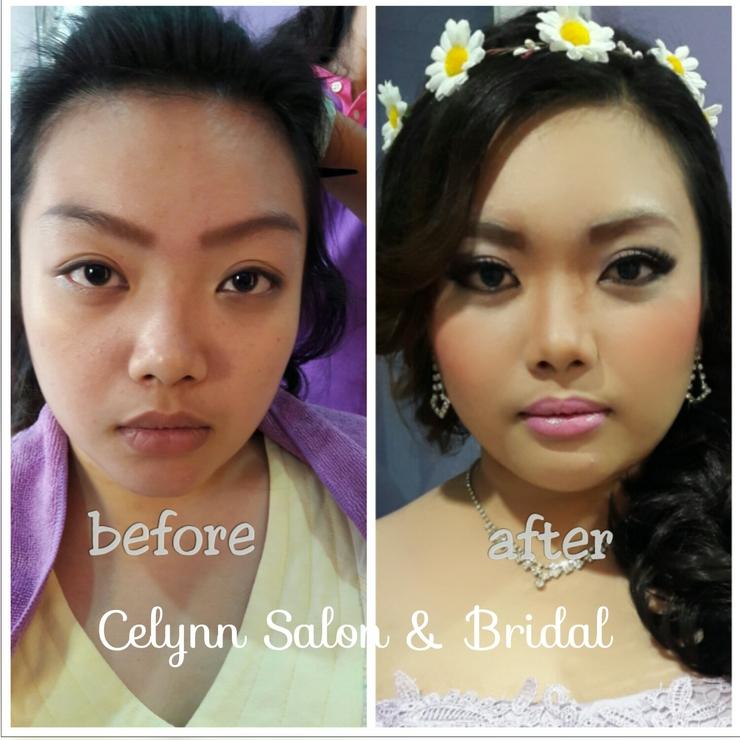 prewedding makeup photoshoot for beby