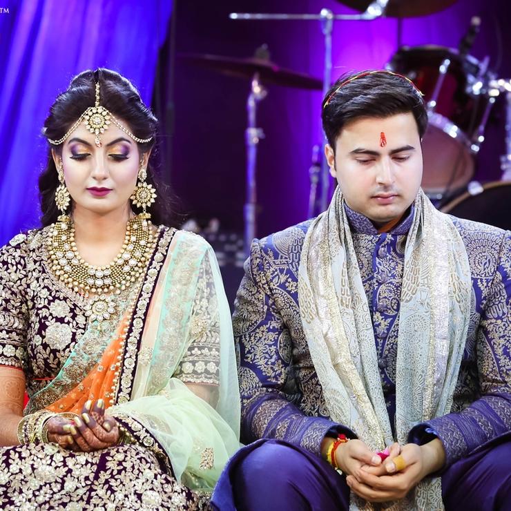 Urvashi weds Shashwat