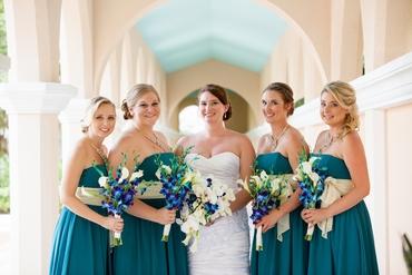Outdoor white curvy wedding dresses