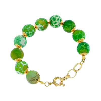 Green bracelets, earrings, necklaces & other jewellery