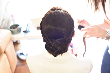Bridal hair and make-up