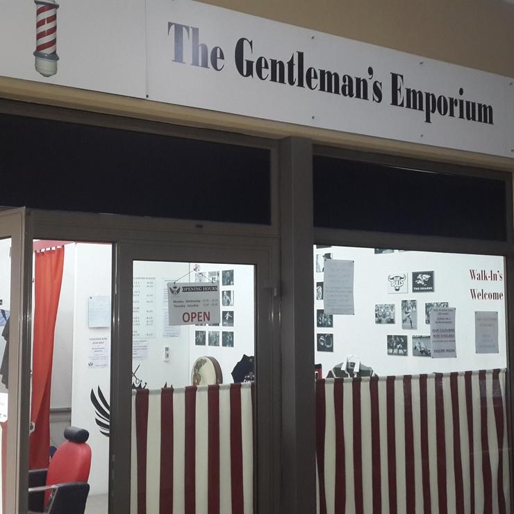 The Gentleman's Emporium Decor