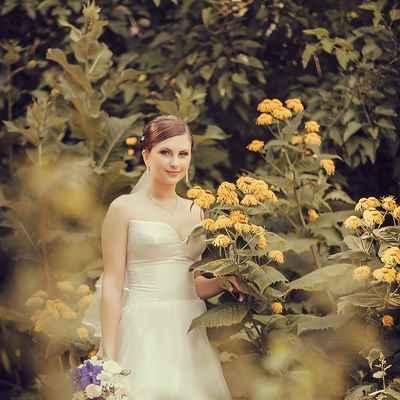 Summer corset wedding dresses