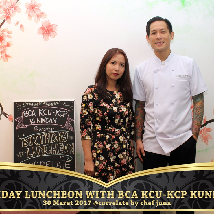 BIRTHDAY LUNCHEON WITH BCA KCU-KCP KUNINGAN