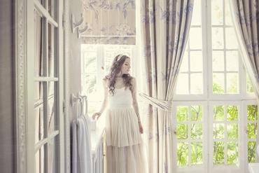 Overseas closed wedding dresses
