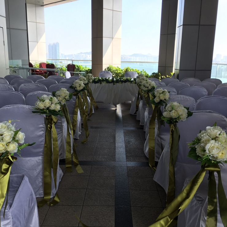 Wedding Ceremony in Sky Garden