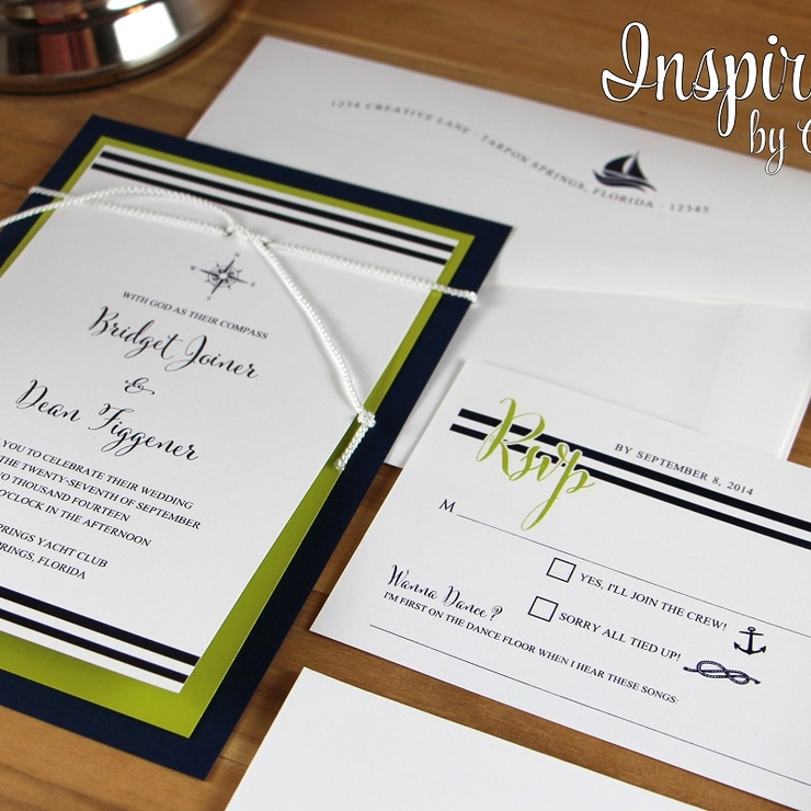 A Sampling of our Nautical Style Weddings