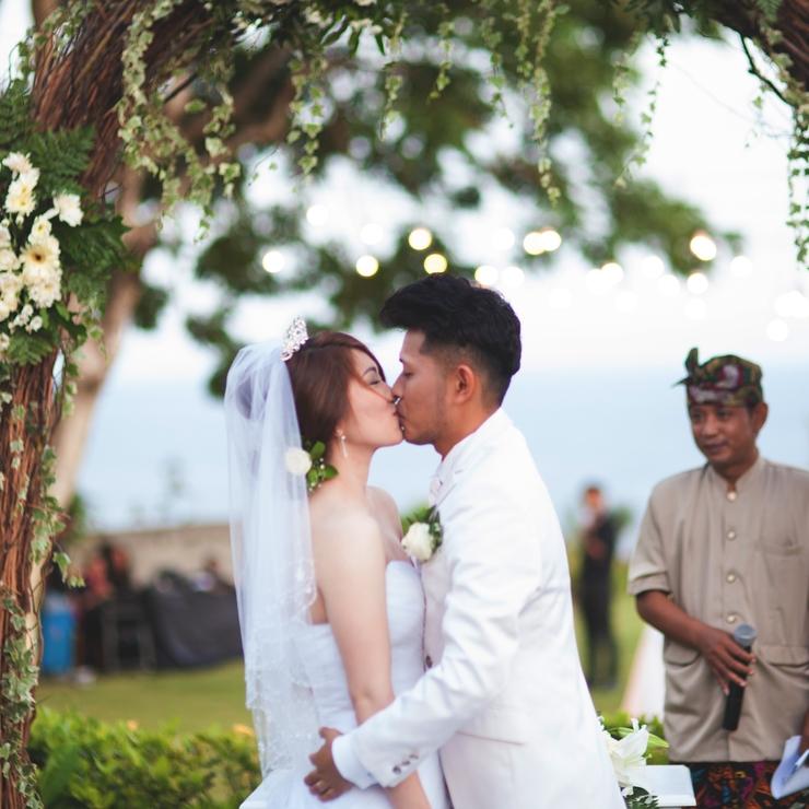 Wedding Yosuke & Chizumi Ando at Villa Karang Dua