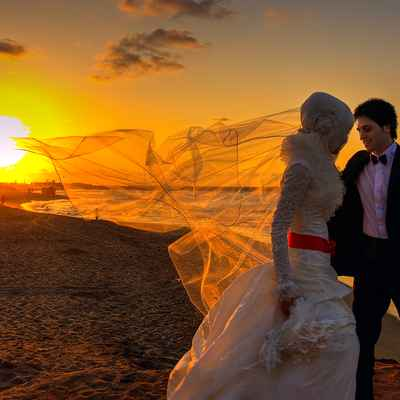 Ethnical white wedding photo session ideas