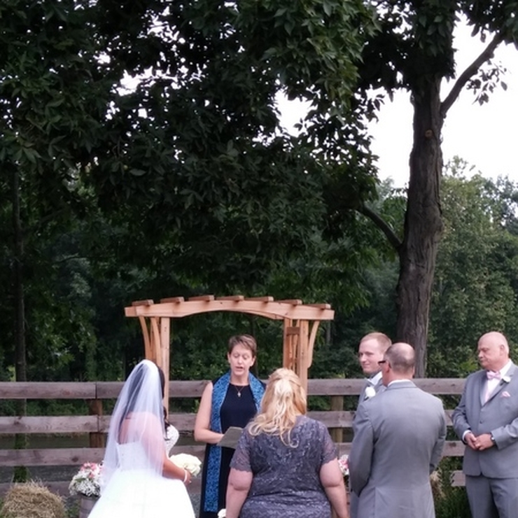 Outdoor Wedding, Liberty Ridge Farm