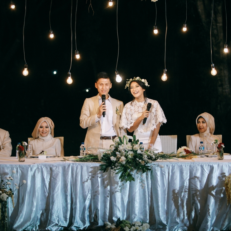 Cici and Dhani Wedding