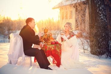 Ethnical winter real weddings