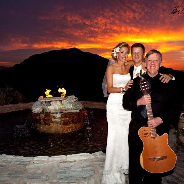 Roger Paull wedding guitar