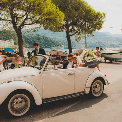 Mediterranean wedding transport