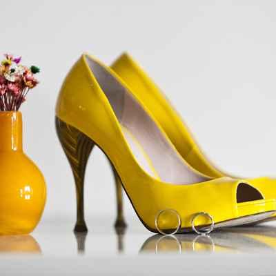 Yellow bridal style