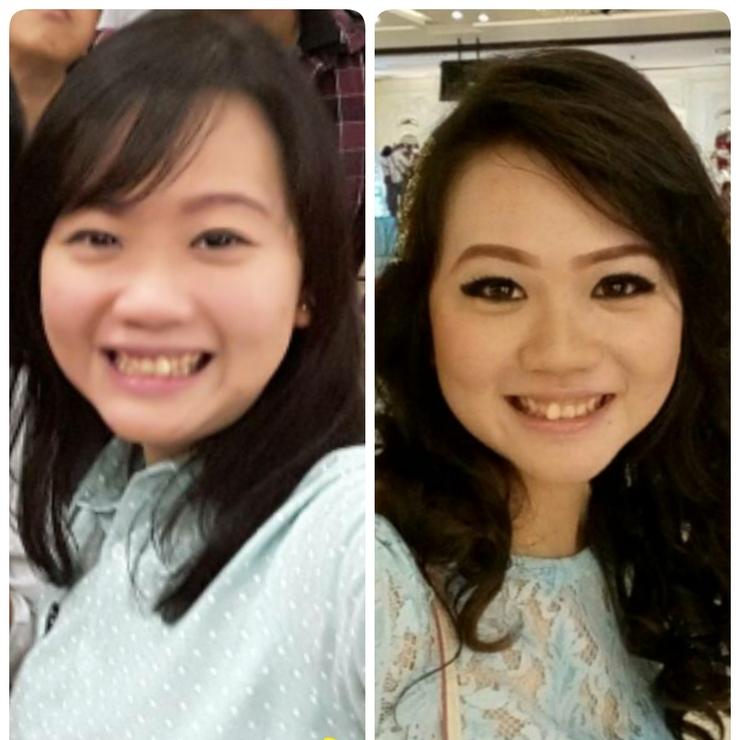 Makeup&hairdo for ike